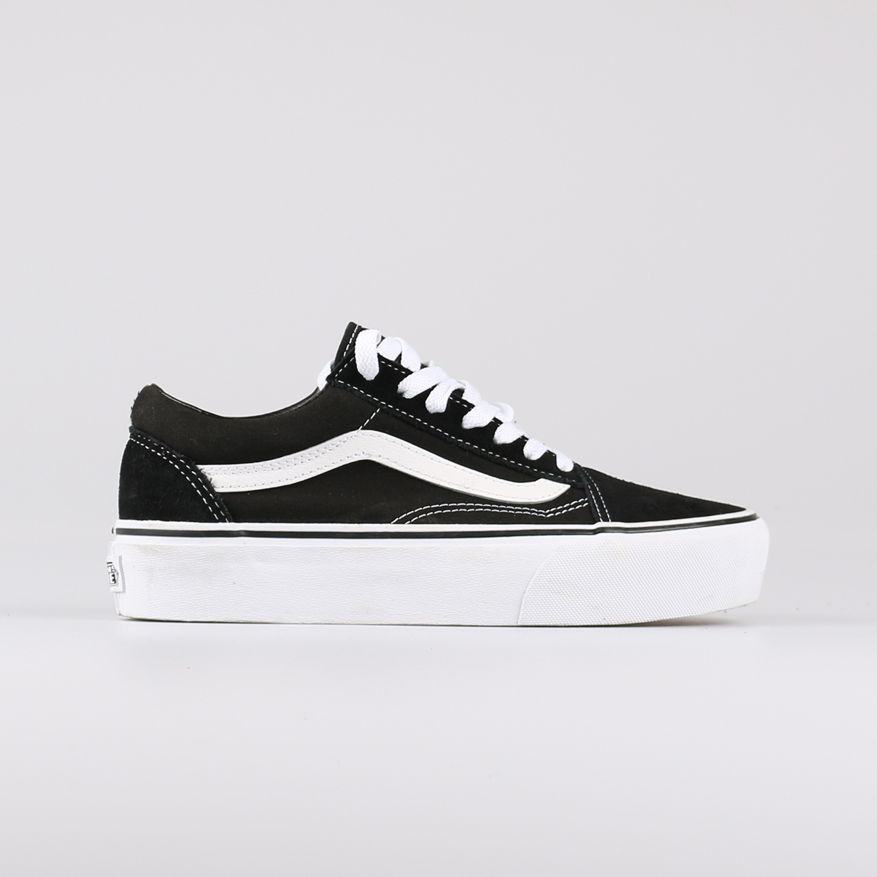 vans old skool wit heren