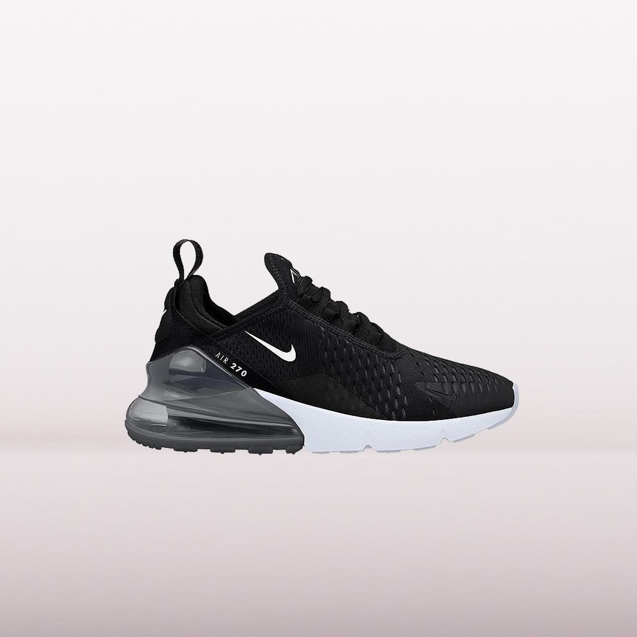 Nike Air Max 270 (Gs) Shoes Black Kids   eBay